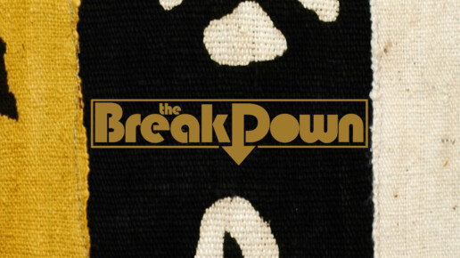 'Main Logo for 'The Breakdown' on BET